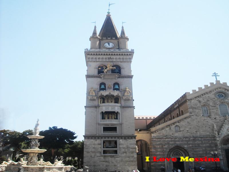 Il campanile del Duomo di Messina