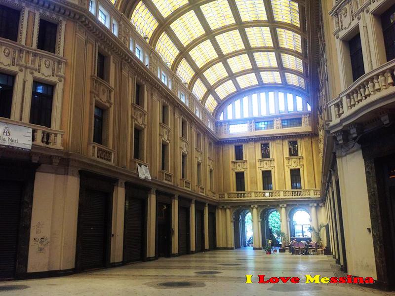 La galleria Vittorio Emanuele III