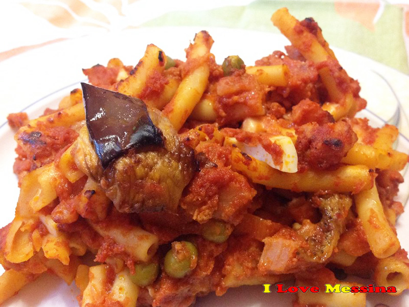 Pasta al forno messinese